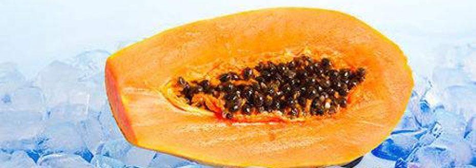 DIY木瓜燕麦祛痘印面膜