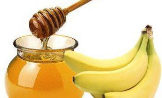 DIY香蕉蜂蜜补水面膜