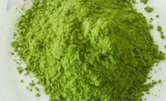 DIY绿茶粉美白面膜